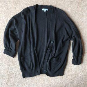 LOFT 3/4 sleeve cardigan with pockets